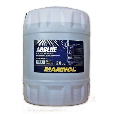 20 (1x20) L. MANNOL ADBLUE zur Abgasreinigung/ SCR Harnstofflösung ISO 22241-1