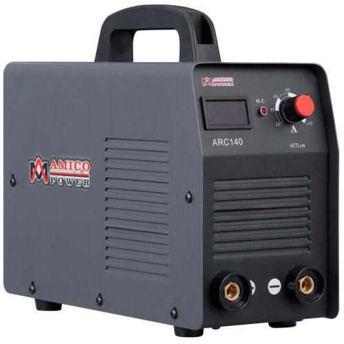 AMICO ARC-140, 140 Amps Stick Arc DC Welder, 110V IGBT Inverter Welding Machine