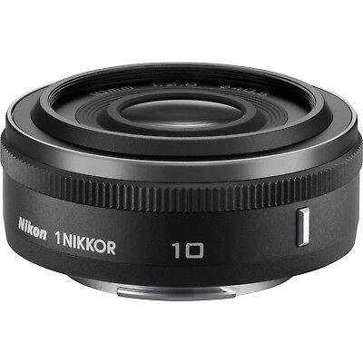 Nikon 1 NIKKOR 10mm f/2.8 Lens Black - Factory Refurbished