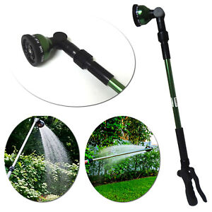 10-Pattern Telescoping Water Wand Hose Nozzle Irrigation Sprinkler Plant Garden