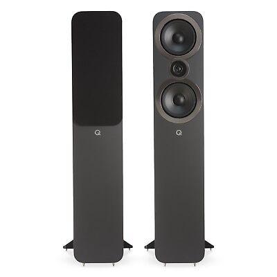 Q Acoustics 3050i Floorstanding Speaker Pair (Graphite Grey) for sale  Atlanta