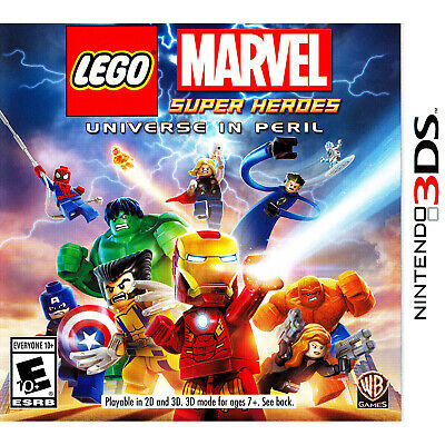 LEGO Marvel Super Heroes: Universe in Peril 3DS [Brand