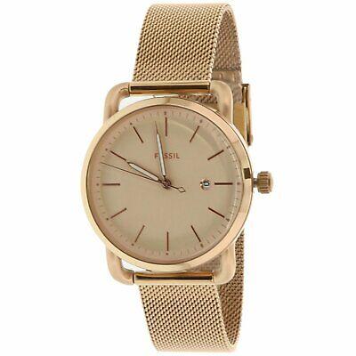 Fossil Women's The Commuter ES4333 Rose-Gold Stainless-Steel Quartz Dress Watch