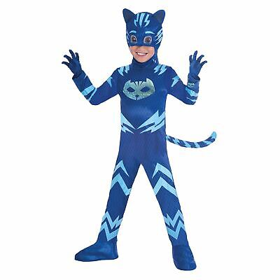 Catboy PJ Masks Costume Boys Pyjama  Superhero Fancy Dress Outift Childs - Pyjama Boy Kostüm