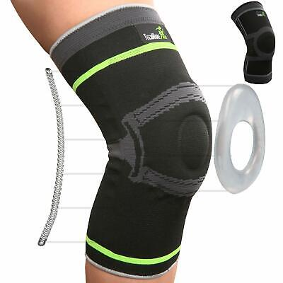 TechWare Pro Knee Compression Sleeve - Best Knee Brace with Side (Best Knee Compression Sleeve)