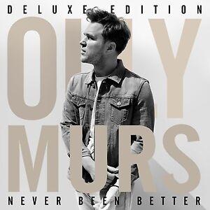 OLLY MURS - NEVER BEEN BETTER: DELUXE EDITION CD ALBUM (November 24th 2014)