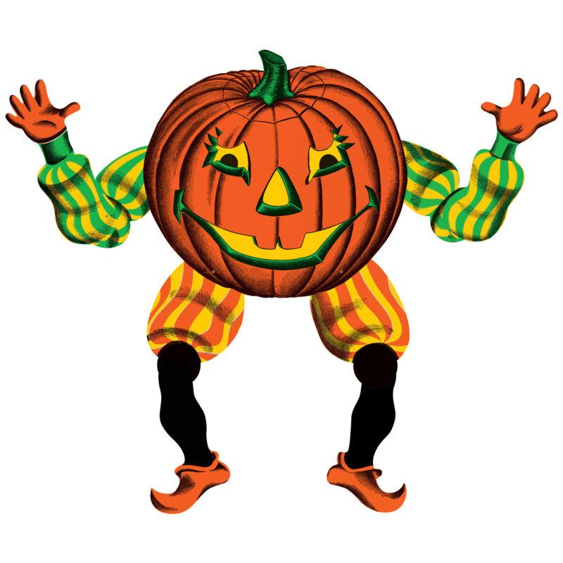 Vintage Halloween Jointed Goblin