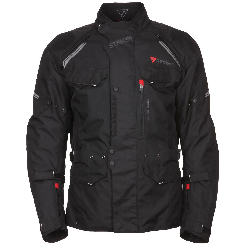 303f7a540517 Motorrad Jacke Motorradjacke Cordura Textil schwarz