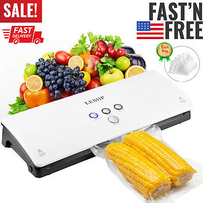 Commercial Vacuum Sealer Machine Seal A Meal Food Saver System With Free Bags Us