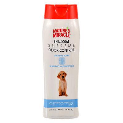 Nature's Miracle Supreme Odor Control Natural Puppy Shampoo