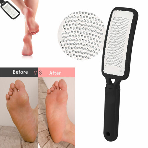 Stainless Steel Foot File Rasp Scraper Hard Dead Rough Skin Callus Remover Care Health & Beauty