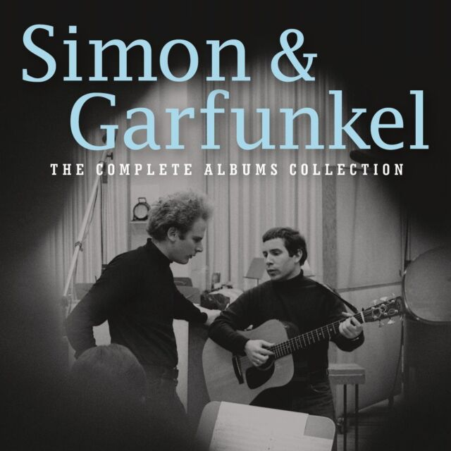 SIMON & GARFUNKEL - THE COMPLETE ALBUMS COLLECTION 12 CD NEU