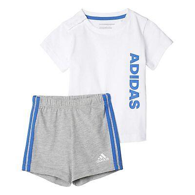 Completo neonato ADIDAS completino estivo per bimbo completi sportivo 3/9 mesi