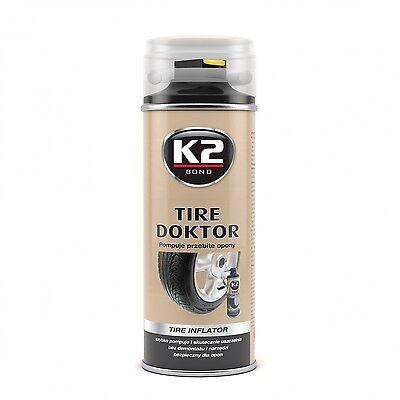 K2 Reifendichtmittel Reifenpilot Reifenreparatur Pannenspray -400ml