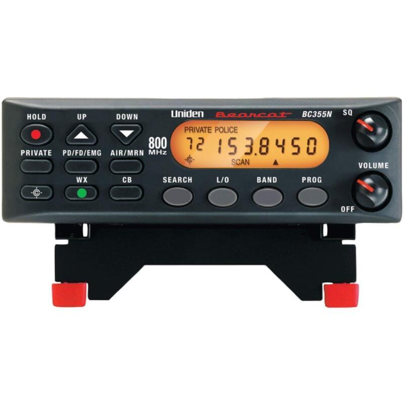 Uniden BC355N 800MHz Compact Base/Mobile Police Scanner Bear