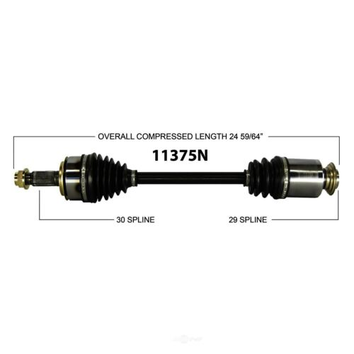 CV Axle Shaft-AWD, Auto Trans Front Right 11375N Fits 2009
