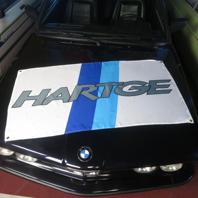 Hartge Flag Banner bmw M5 M6 M1 Z1 Z3 alpina hartge E30 E36 E60 E46 korman 325i
