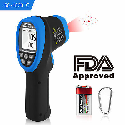 Digital Infrared Thermometer Gun Ir Temperature Industrial Thermometer