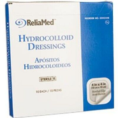 Ind Cardinal Health Esse Sterile Latex-free Hydrocolloid Dressing With Film B