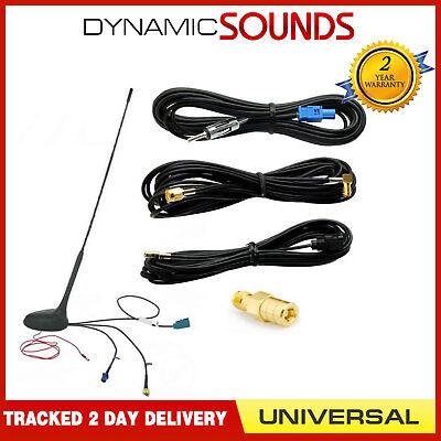 Universal DAB Techo Soporte Antena Kit DAB / Fm / Am GPS Antena Amplificadora