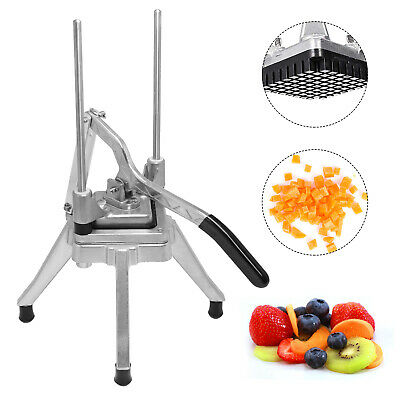 Commercial Vegetable Fruit Dicer 38 Blade Cutter Stainless Steel Potato Onion