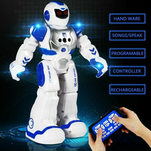 Intelligente RC Roboter Ferngesteuerter Spielzeug mit Musik Kinder Gestensensor