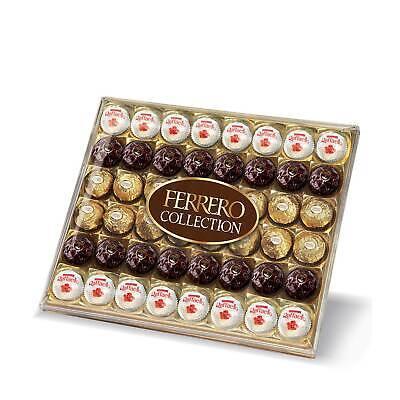 Ferrero Rocher Collection Raffaello Rondnoir Chocolate Gift Box 48 Piece - 518g