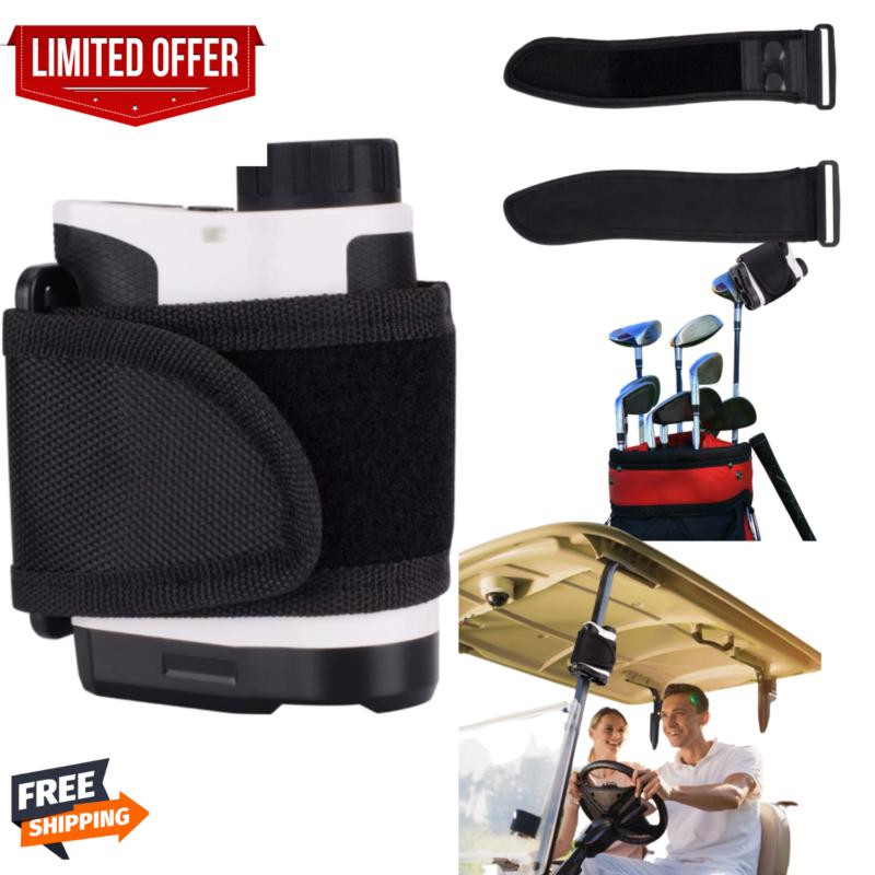 Range Finder Magnetic Holder Strap Case Golf Rangefinder on