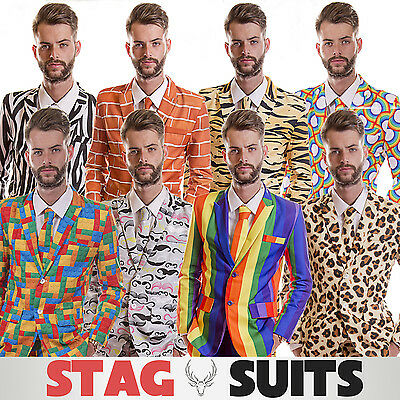 New Stag Do Suit Fancy Dress Costume, Stand out suits for men who like to party!