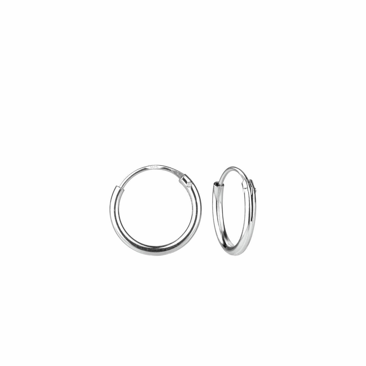925 sterling silver 10mm tiny endless sleeper