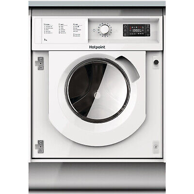 Hotpoint Integrated BIWMHG71284 7kg Washing Machine 1200RPM A+++ - White