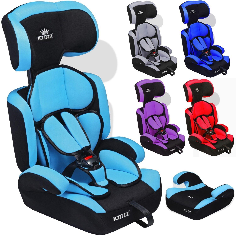 Kidiz® Autokindersitz Autositz Kinderautositz 9-36 kg Gruppe 1+2+3 Kindersitz