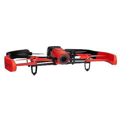 Parrot Bebop Drone 1400 megapixel quad Copter with fish-eye lens camera Red F/S