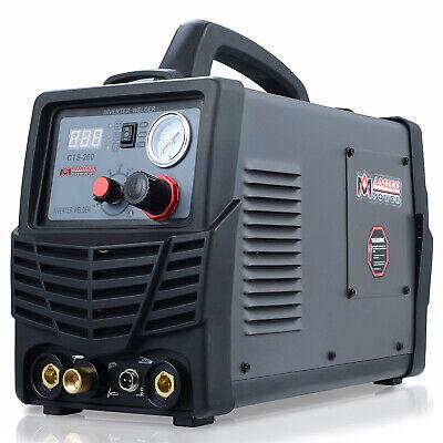 Cts-200 50a Plasma Cutter 200a Tig Stick Arc Dc Welder 3-in-1 Combo Welding