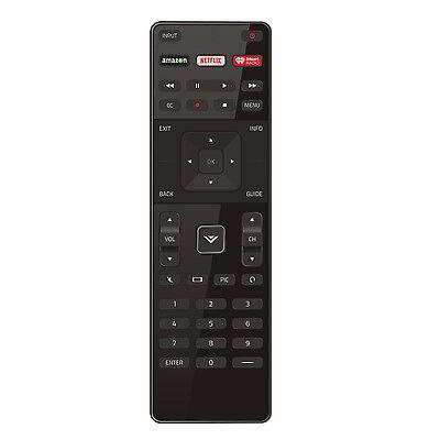 US New Vizio XRT122 LED HDTV TV Remote Control with Amazon/Netflix/IHeart Key