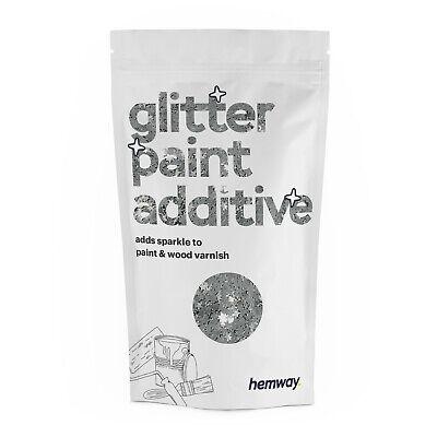 Hemway Plata Stars Purpurina Pintura Cristales Para Emulsión Papel Pintado