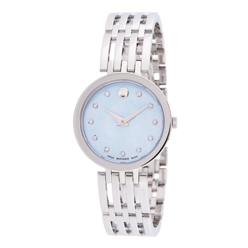 Movado 0607304 Women Esperanza Blue Quartz Watch