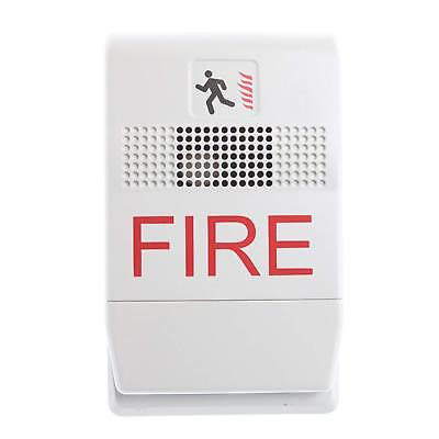 New Est G1f-hd Genesis White Temporal Fire Alarm Horn Highlow Db Output