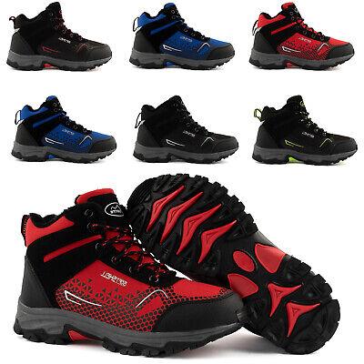 Neu Damen Herren Outdoor Boots Gefüttert Wanderschuhe Trekking 2074 Schuhe 36-46
