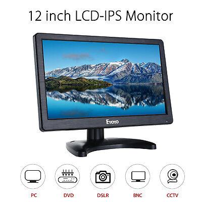 EYOYO 12 inch Digital IPS Display 1920*1080 Resolution VGA/HDMI/BNC/USB W/Remote