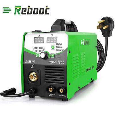 Mig Welder 160a Igbt Inverter Flux Core Wire Gaslessgas 4 In 1 Welding Machine