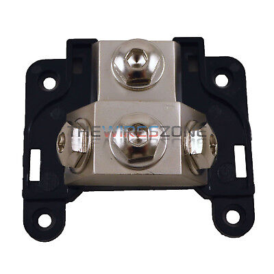 Platinum Any Gauge 3-Position Ground/Power Distribution Block for Car Amplifiers