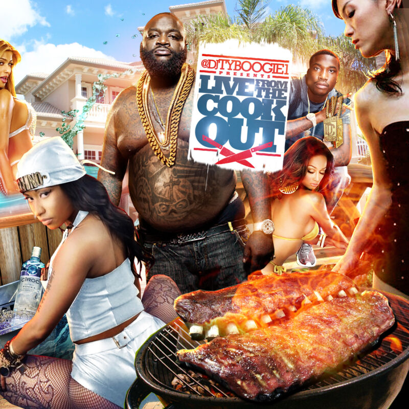 Dj Ty Boogie - Live From The Cookout (mix Cd) Hip Hop, R&b And Blends