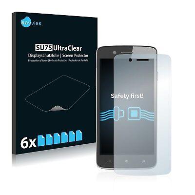 6x Displayschutzfolie Prestigio MultiPhone 8500 DUO PSP8500DUO Schutzfolie