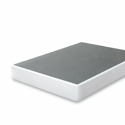 9 Inch High Profile Smart Box Spring Mattress Foundation Strong Steel Structure California King Mattress And Box Spring