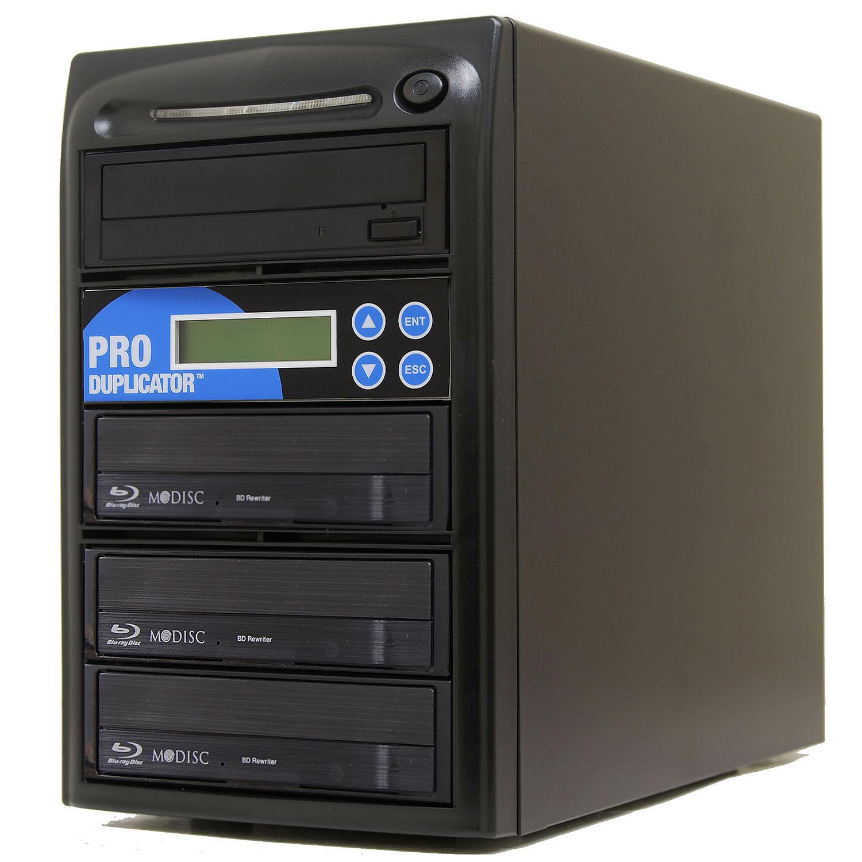 Produplicator 1 to 3 Blu-ray BD BDXL M-Disc CD DVD Duplicato