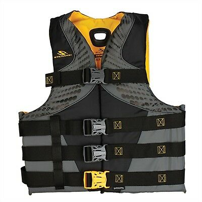 Stearns 2000013976 PFD 5974 Mens Infinity Life Jacket Vest 2Xl/3Xl Gold C004