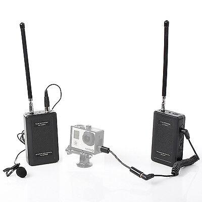 Saramonic Wireless Lavalier Camera Microphone for Canon SLR GoPro Hero 4 3 3+
