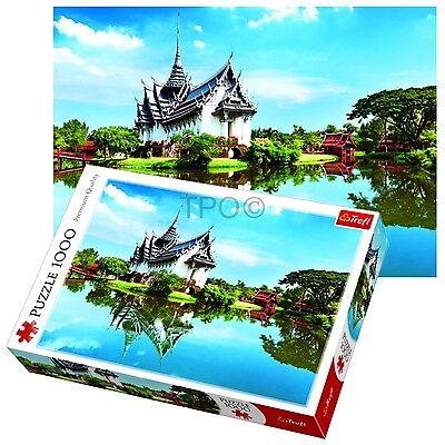 Trefl 1000 Piece Adult Large Sanphet Prasat Palace Thailand Jigsaw Puzzle NEW