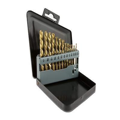 Neiko 10038A Left Hand Drill Bit Set, 13 Piece   M2 HSS With